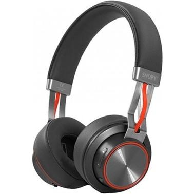 Snopy Sn-44Bt Modüler Kablolu Bluetooth Siyah Mikrofonlu Kulaklık Siyah